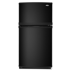Amana A9RXNMFWB 19.0 cu. ft. Refrigerator with Glass Shelves, Adjustable Door Bins, & Contour Doors