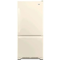 Amana ABB1924WEQ 18.5 cu. ft. Refrigerator with 4 Half-Width Adjustable Spillsaver Glass Shelves