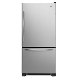 Amana ABB1924WES 18.5 cu. ft. Refrigerator with 4 Half-Width Adjustable Spillsaver Glass Shelves