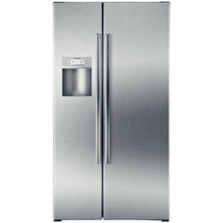 Bosch Linea B22CS80SNS 21.7 cu. ft. Refrigerator with External Ice Maker and Water Dispenser, LED Interior Lighting
