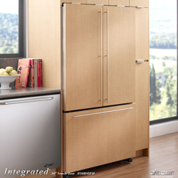Dacor Integrated IF36BNNFSF 19.8 cu. ft. Freestanding Refrigerator with Tempered Glass Proof Shelves & Multiple Temperature Sensors