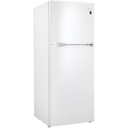 Danby DFF280WDB 9.9 cu. ft. Refrigerator with Adjustable Wire Shelves & LED Lighting