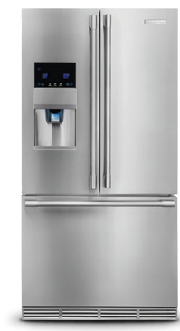 Electrolux ICON Professional E23BC78IPS 22.6 cu.ft. Counter-Depth French Door Refrigerator, 4 Glass Shelves, Adjustable Door Bin, Custom Temp Drawer, PureAdvantage Filter Ice and Water Dispenser