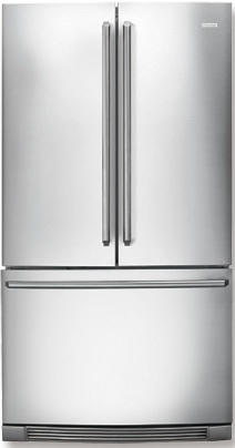 Electrolux IQ-Touch EI23BC51IS 22.6 cu. ft. Counter-Depth Refrigerator, Glass Shelves, Perfect Temp Drawer, Multi-Level LED Lighting, Ice Maker