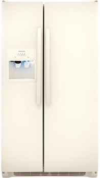 Frigidaire FFHS2611LQ 26 cu. ft. Side by Side Refrigerator, 3 SpillSafe Shelves, Clear Dairy Door, PureSource 3 Water Filtration, Energy Saver Plus Technology