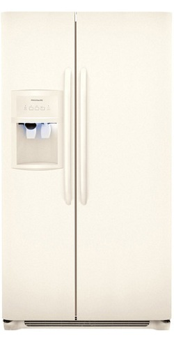 Frigidaire FFHS2622MQ 26.0 cu. ft. Side by Side Refrigerator, SpillSafe Glass Shelves, Gallon Door Bins, Humidity-Controlled Crisper, External Ice/Water Dispenser