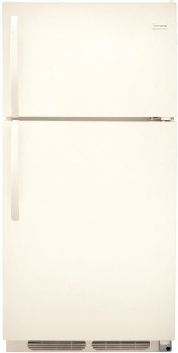 Frigidaire FFHT1513LQ 14.8 cu. ft. Top Freezer Refrigerator, 2 Sliding Wire Shelves, Store-More Gallon Door Bins, Full-Width Freezer Rack, Ready-Select Controls