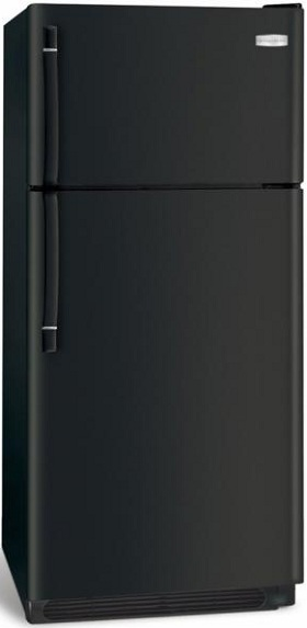Frigidaire FFHT1817LB 18.2 cu. ft. Top-Freezer Refrigerator, 2 Adjustable Sliding Glass Shelves, 2 Humidity Controlled Crisper Drawers, Ready-Select Controls, Cool Zone Drawer