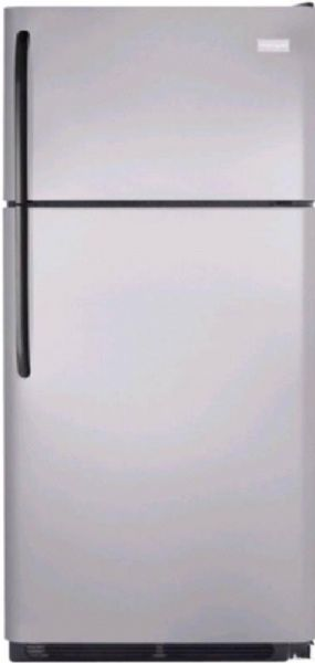 Frigidaire FFHT1826LM 18.2 cu. ft. Top Freezer Refrigerator, 2 Sliding SpillSafe Shelves, 2 Humidity Controlled Crisper Drawers, Store-More Gallon Door Storage, Cool Zone Drawer