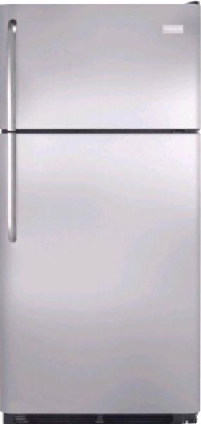 Frigidaire FFHT1826LS 18.2 cu. ft. Top Freezer Refrigerator, 2 Sliding SpillSafe Shelves, 2 Humidity Controlled Crispers, Store-More Gallon Door Storage, Cool Zone Drawer