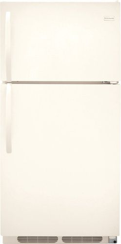 Frigidaire FFTR1513LQ 14.8 cu. ft. Top Freezer Refrigerator, 2 SpaceWise Adjustable Wire Shelves, 2 Humidity Controlled Crispers, Store-More Gallon Door Storage, Control Lock Option