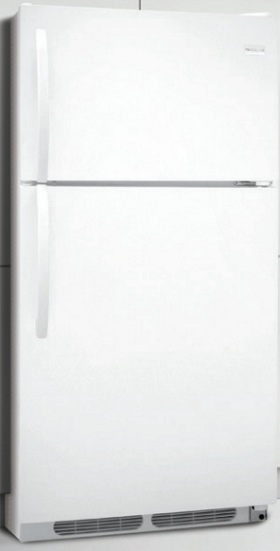 Frigidaire FFTR1513LW 14.8 cu. ft. Top Freezer Refrigerator, 2 SpaceWise Adjustable Wire Shelves, 2 Humidity Controlled Crispers, Store-More Gallon Door Storage, Control Lock Option