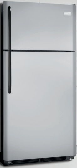 Frigidaire FFTR1814LM 18.2 cu. ft. Top Freezer Refrigerator, 2 SpaceWise Adjustable Wire Shelves, 2 Humidity Controlled Crispers, Clear Dairy Door, Ready-Select Controls