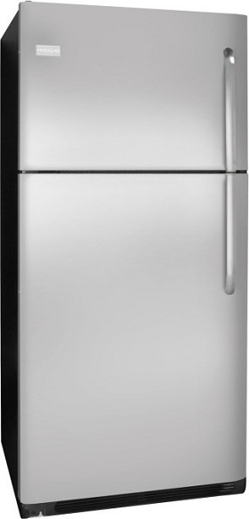 Frigidaire FFTR2126LK 20.6 cu. ft. Top-Freezer Refrigerator, SpillSafe Adjustable Glass Shelves, Full-Width Door Bins, Humidity-Controlled Drawers