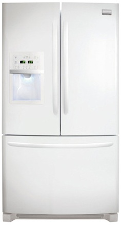 Frigidaire Gallery FGHB2844LP 27.8 cu. ft. French Door Refrigerator, Clear Full-Width Humidity Crispers, External Ice/Water Dispenser, Self-Closing Pull-Out Freezer Drawer