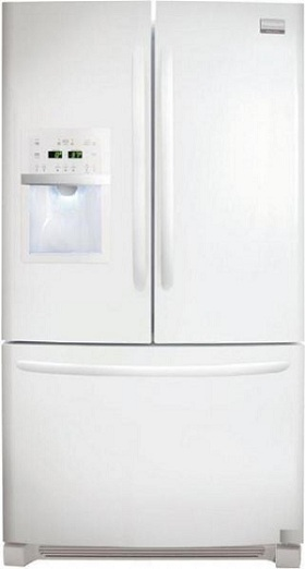 Frigidaire Gallery FGHB2869LP 27.8 cu. ft. French Door Refrigerator, Clear Full-Width Humidity Crispers, External Ice/Water Dispenser, Quick Freeze, LED Lighting, Can Dispenser