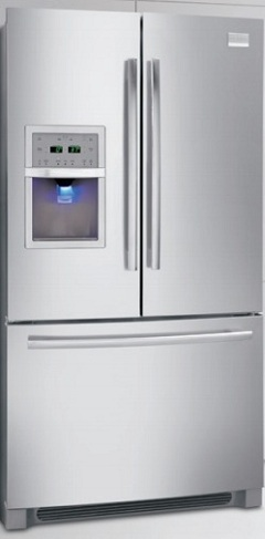 Frigidaire Professional FPHB2899LF 27.8 cu. ft. French Door Refrigerator, Cool Zone Drawer, External Ice/Water Dispenser, Humidity-Controlled Crisper Drawers, Effortless Glide Freezer Drawer