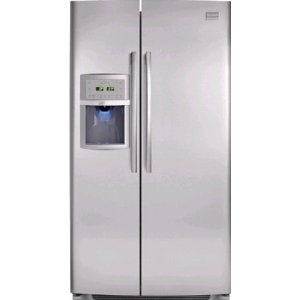 Frigidaire FPHC2398LF Professional 22.6 cu. ft. Counter Depth Side By Side Refrigerator, Filtered External Ice and Water dispenser, Stainless Steel