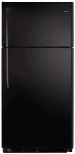 Frigidaire NFTR18X4LB 18.2 cu. ft. Top Freezer Refrigerator, 2 Adjustable Glass Shelves, 2 Humidity Controlled Crispers, Clear Dairy Door, Ready-Select Controls