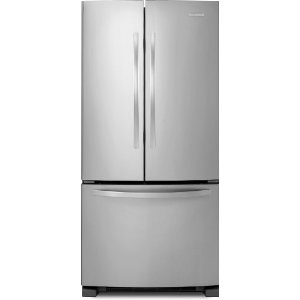 KitchenAid KBFS22EWMS Architect Series II 21.9 cu. ft. French Door Refrigerator, Monochromatic Stainless Steel