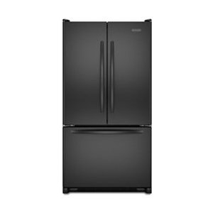 KitchenAid KBFS25EWBL Architect Series II 24.8 cu. ft. French Door Refrigerator, Black