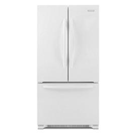 Kitchenaid Kfcs22evwh Architect 21 8 Cu Ft Counter Depth French Door Refrigerator White