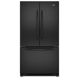 Maytag MFD2562VEB 24.8 cu. ft. French Door Refrigerator, 2 EasyGlide Spill-Catcher Glass Shelves, Electronic Triple-Cool System, Internal Water Dispenser, Accelerated Ice Production