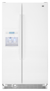Maytag Msd2553wew 25 Cu Ft Side By Side Refrigerator White