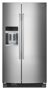 Maytag MSD2559XEM 25.8 cu. ft. Side by Side Refrigerator, 3 Adjustable Spill-Catcher Shelves, FreshLock Crisper, Adjusti-Temp Deli Drawer, Adaptive Defrost, External Water/Ice Dispenser