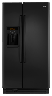 Maytag MSD2576VEB 25.3 cu. ft. Side by Side Refrigerator, Adjustable Spill-Catcher Glass Shelves, Beverage Chiller Compartment, Humidity-Controlled Crispers, Fill-N-Chill Ice/Water Dispenser, Up-Front Sliding Controls