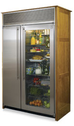 Northland 48sswgx2 325 Cu Ft Side By Side Refrigerator Glass Door