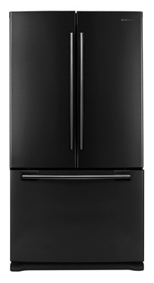 Samsung RF266AEBP 26 cu. ft. French Door Refrigerator, 5 Tempered Glass Shelves, CoolSelect Pantry, Internal Water Dispenser, Built-in Automatic Icemaker, LED Lighting