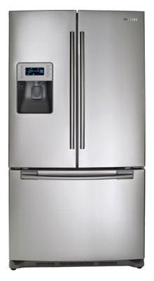 Samsung Rf267aers 26 Cu Ft French Door Refrigerator