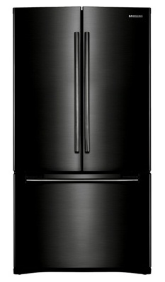 Samsung RFG293HABP 29 cu. ft. French Door Refrigerator, 5 Spill Proof Glass Shelves, Energy Star Qualified, Power Freeze/Cool, Cool Select Pantry w/ Temp. Control, Wine Rack, Internal Ice Dispenser