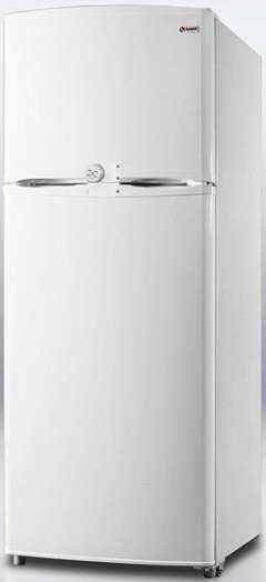 Summit FF1062LLF2 9.4 cu. ft. Counter-Depth Top-Freezer Refrigerator, Adjustable Glass Shelves, Turbo Flow Air System, Energy Efficient Design
