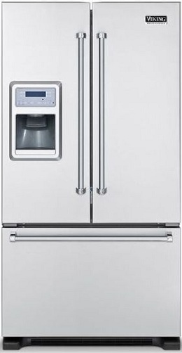 Incroyable Viking Professional VCFF136DSS 19.8 Cu. Ft. Counter Depth French Door  Refrigerator, Slide