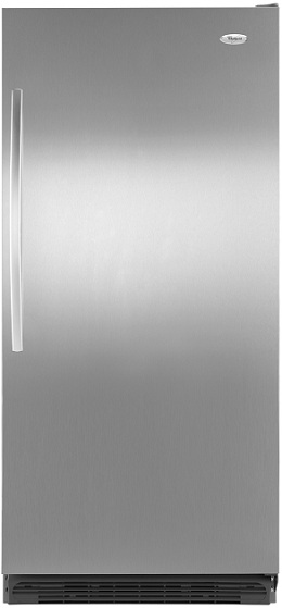 Whirlpool Sidekicks EL88TRRWS 17.7 cu. ft. All Refrigerator, 5 Adjustable Spill-Resistant Glass Shelves, 7 Adjustable Door Bins, Gallon Storage Shelf, Meat Keeper Drawer