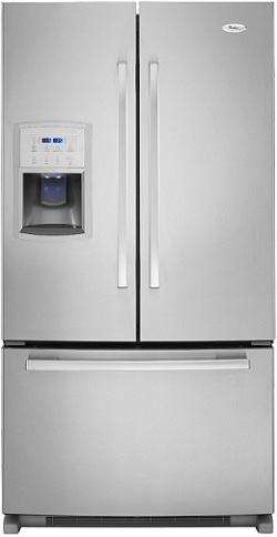 Whirlpool Gold Gi0fsaxvy 19 8 Cu Ft French Door