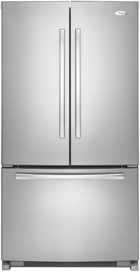 Whirlpool Gold GX5FHTXVY 24.8 cu. ft. French Door Refrigerator, SpillProof Shelves, Factory Installed IceMaker, PuR Water Filtration System